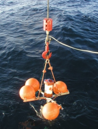 Deploying ADCP Deepwater mooring